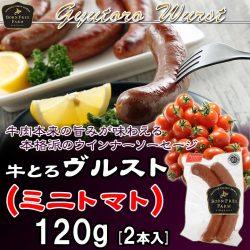 銀賞 牛とろヴルスト(トマト)