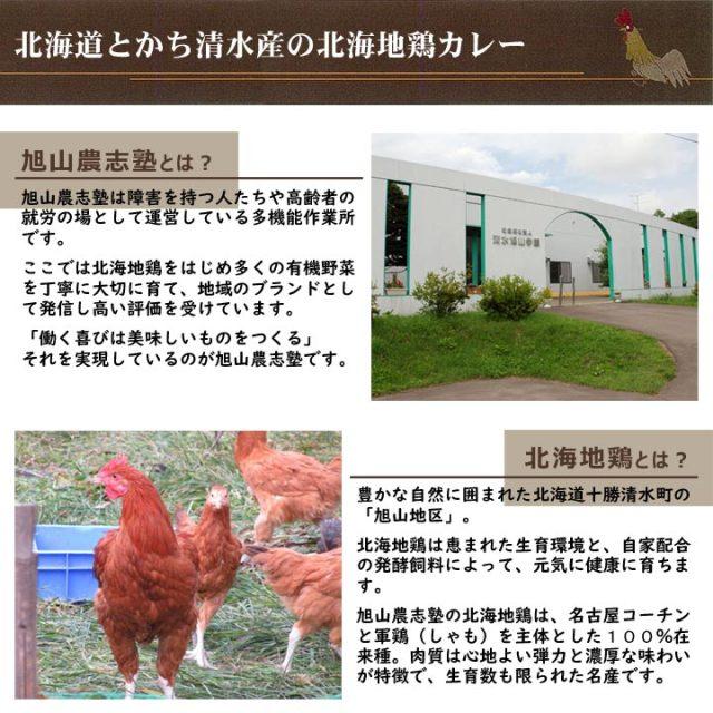 北海地鶏カレー 北海地鶏キーマカレー